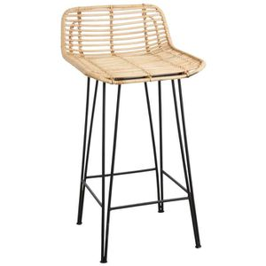 tabouret de bar rotin achat vente tabouret de bar. Black Bedroom Furniture Sets. Home Design Ideas