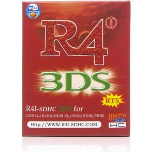 TÉLÉCOMMANDE CONSOLE R4i SDHC RTS Flashcart pour 2DS / 3DS (XL) V11.6.0
