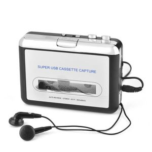 MOUSTIQUAIRE OUVERTURE Cassette USB PC Convertisseur de CD MP3 Convertiss