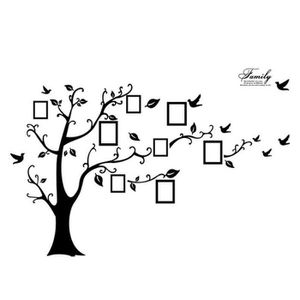 STICKERS Famille photo cadre photo arbre mur art stickers v