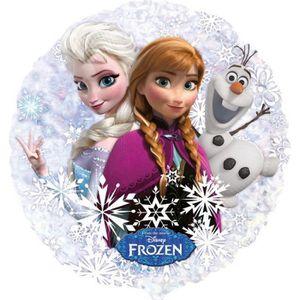 BALLON DÉCORATIF  Ballon géant Olaf Ana Elsa La reine des neiges hél