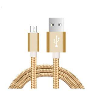 COQUE - BUMPER Lot de 2 Cable de charge Micro USB 3 Mètres pour t