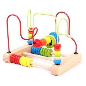 CONSOLE ÉDUCATIVE RUNHE 1-3 ans les enfants âgés de jouets en bois p