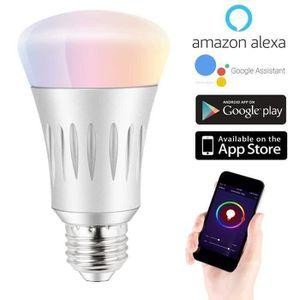 AMPOULE INTELLIGENTE E27 Ampoule Intelligente WiFi, LED Lampe lumière C