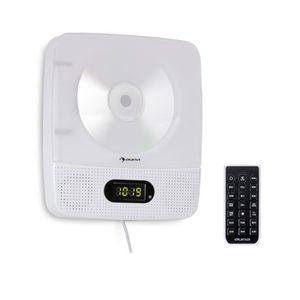 RADIO CD CASSETTE auna Vertiplay Radio CD Bluetooth avec tuner FM ,