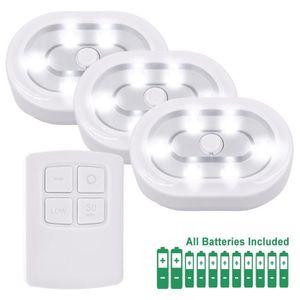 VEILLEUSE Télécommande Sans Fil Lampe Veilleuse LED à Pile S