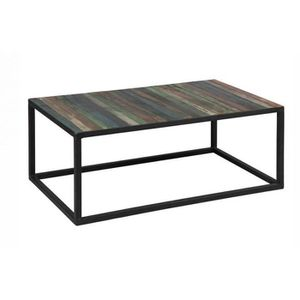 table basse atelier achat vente table basse atelier pas cher soldes cdiscount. Black Bedroom Furniture Sets. Home Design Ideas
