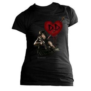ABYstyle M Tshirt Daryl Arbal/ète Femme  Black The Walking Dead