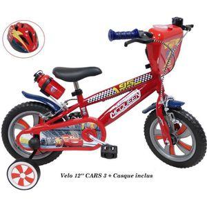 VÉLO ENFANT Vélo 12'' CARS 3 ( 2 à 4 ans ) avec 2 freins, Bido