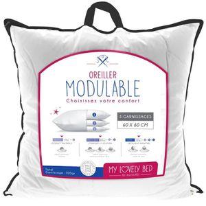 OREILLER My Lovely Bed - Oreiller Modulable 60x60 cm | Garn