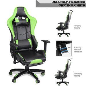 CHAISE DE BUREAU fauteuil gamer chaise de jeu siège gaming fauteuil