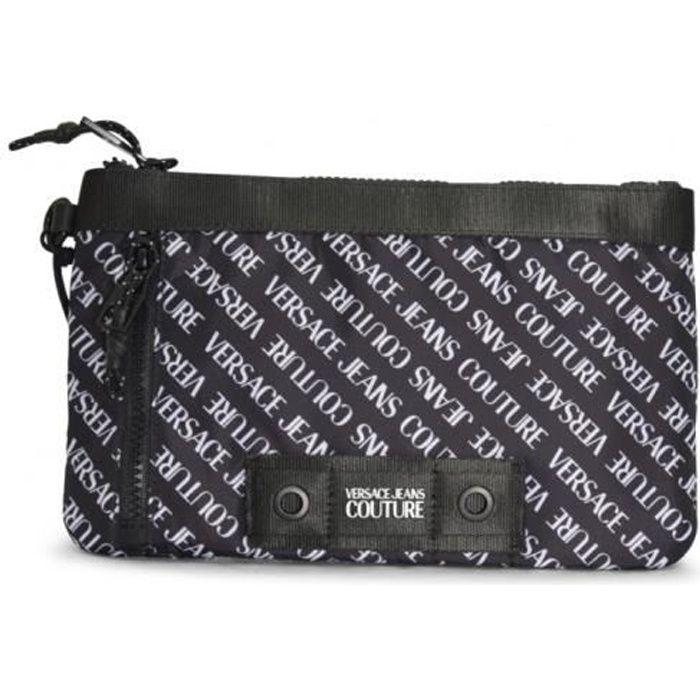 Sacoche Versace Jeans Couture noir - E3YWAP50 LINEA LOGO ALL OVER DIS. 10