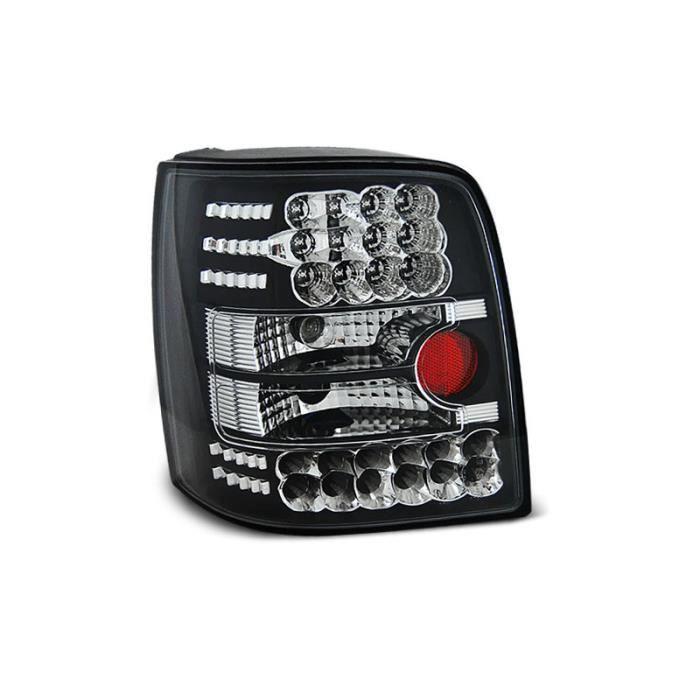 Paire de feux arriere VW Passat B5 3B break 96-00 noir led (W16)