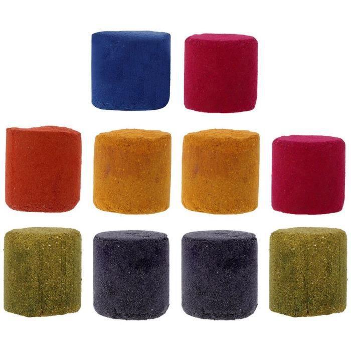 Fumigène gâteau effet coloré spectacle bombe ronde outil de photographie de Studio 10 pièces objet decoratif CTBS5919