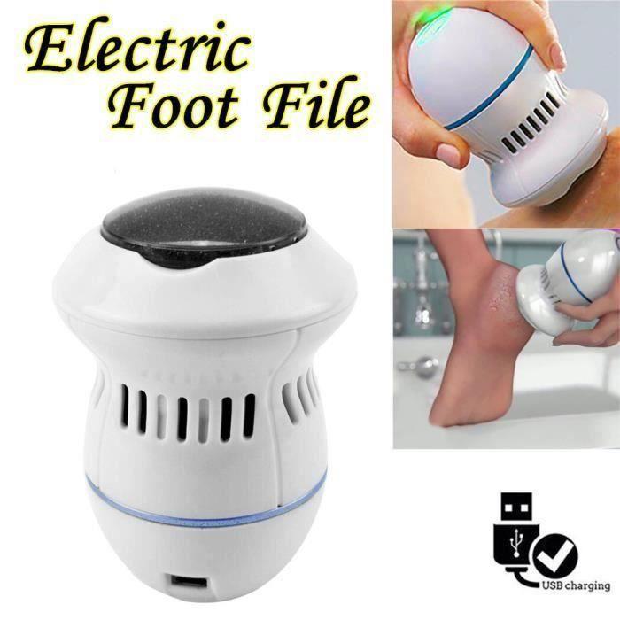 Dossier Pied électrique Pied Polisseuse cuticules peau Remover Pédicure Soins des pieds outil T0440F