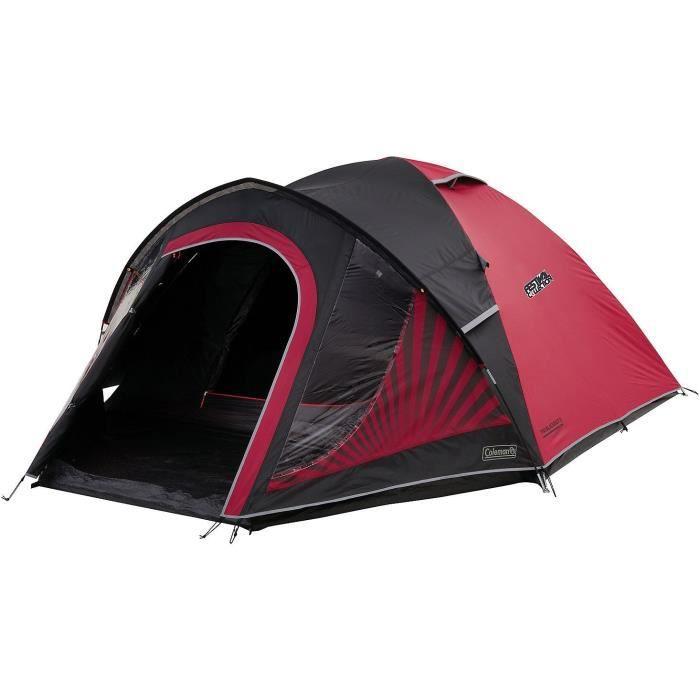 Coleman Tente Blackout 3, Tente de Camping, toile avec Technologie BlackOut Bedroom, Tente Festival, Tente Dôme Ultra Légère,100%