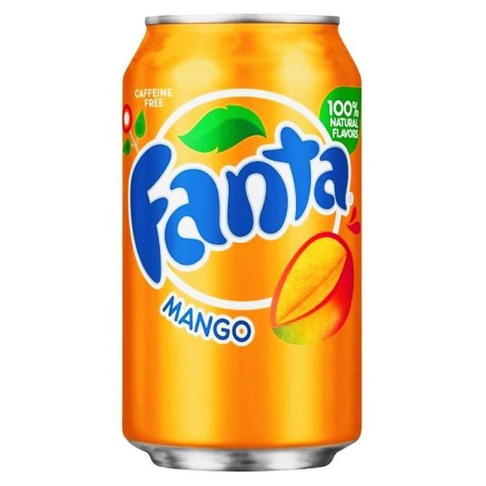 Fanta - Fanta Mangue 35,5cl (pack de 12)