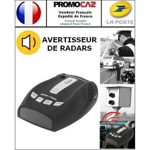 Avertisseur de Radars GRD750 (avec haut-parleur intégré)