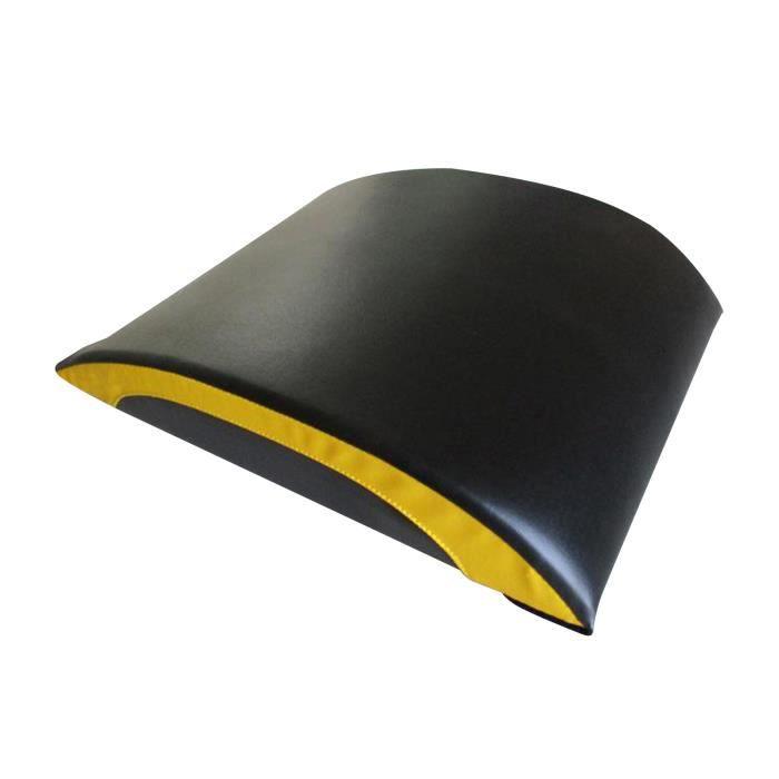 Prime de Conditionnement Physique Ab Tapis Arc Ventre Abdominale Core Formateur S'asseoir Pad Accueil Gym Abs Séances Orange noir
