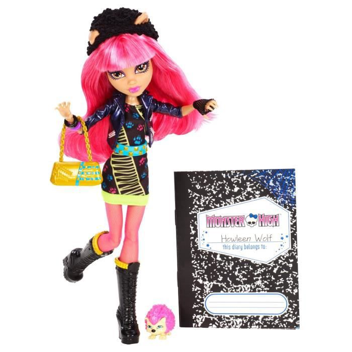 Monster High Howleen WolfMonster High 13 souhaits