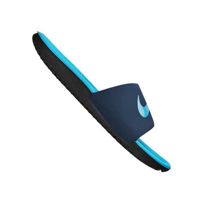 NIKE Sandales Kawa Slide Bleu Enfant