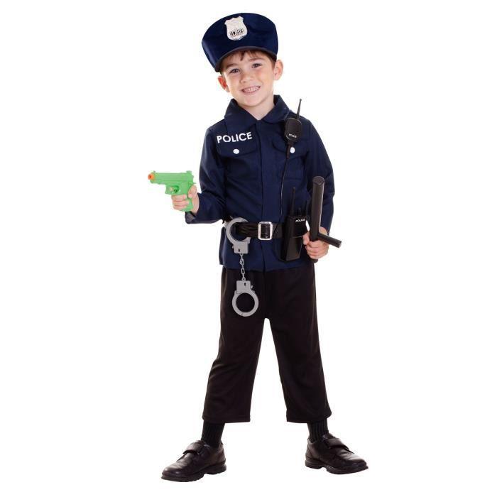 AMSCAN Costume + Accessoires Policier 3/6 ans