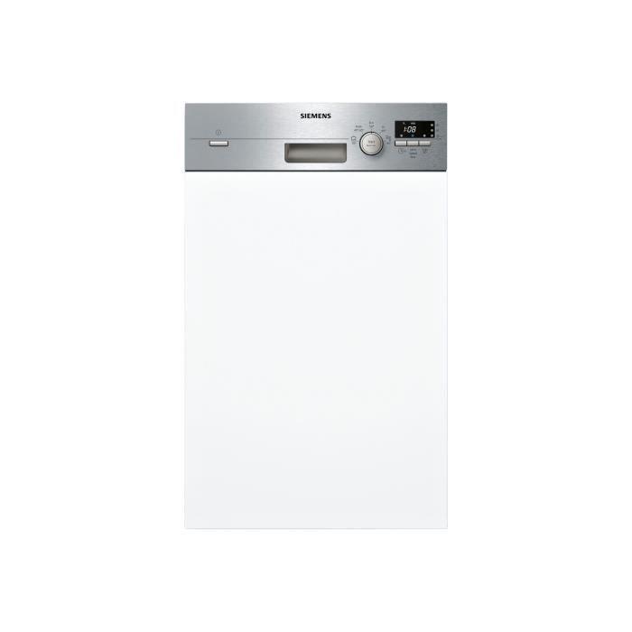 Siemens iQ100 speedMatic45 SR515S03CE Lave-vaisselle intégrable Niche largeur : 45 cm profondeur : 55 cm hauteur : 81.5 cm acier…