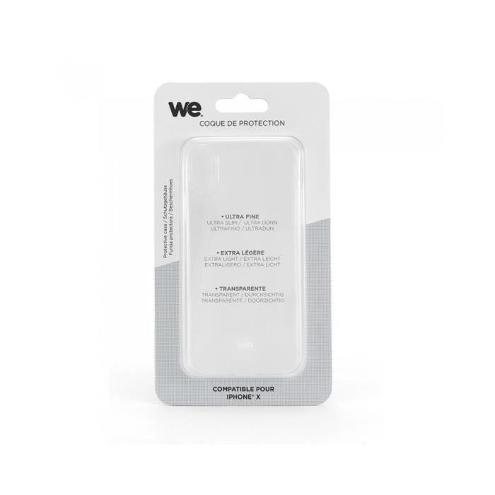 Coque Silicone TPU - iPhone Xs Max Transparent