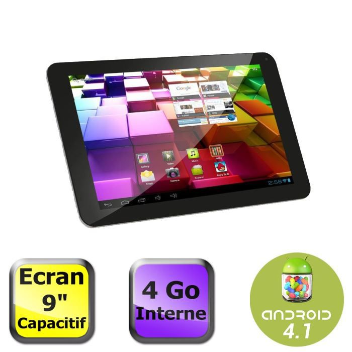 informatique tablettes tactiles ebooks arnova  g tablette android jelly bean f arc