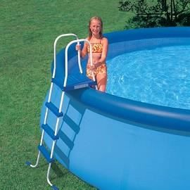 Piscine autoport e ronde 4 57 x 1 22 m achat vente for Piscine 22