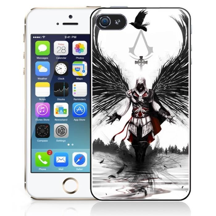 Coque iPhone 6 Plus Assassin's Creed II - Ange - Cdiscount Téléphonie