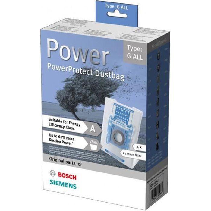 Premium Sacs pour Aspirateur Convient pour Siemens Type P