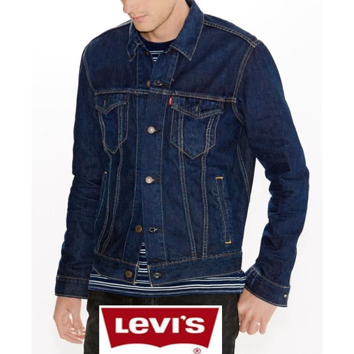 blouson jean levis homme achat vente blouson jean. Black Bedroom Furniture Sets. Home Design Ideas