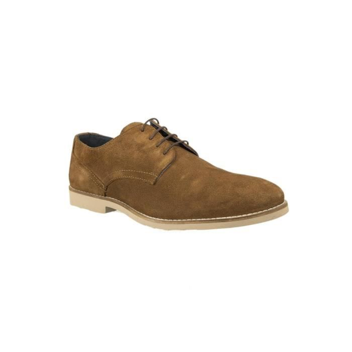 DERBY chaussures ville redskins us831 efodal marron