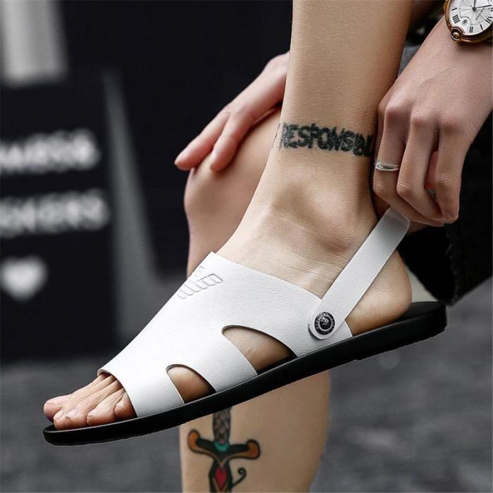 2019 Nouveau Arrivé Sandales Hommes Chaussures qualité confortable hommes