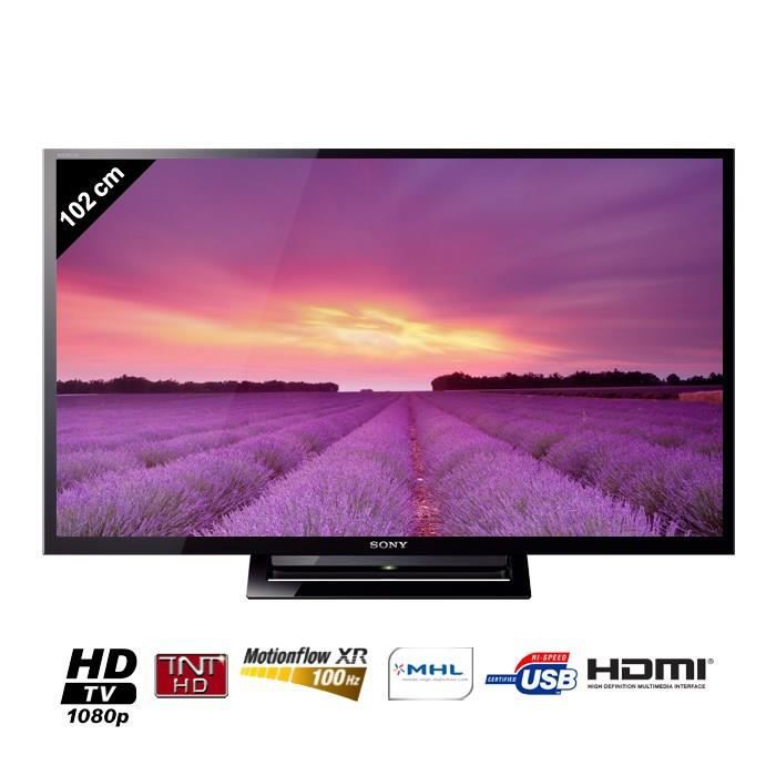 sony bravia kdl40r450b tv led hd 102 cm t l viseur led avis et prix pas cher cdiscount. Black Bedroom Furniture Sets. Home Design Ideas