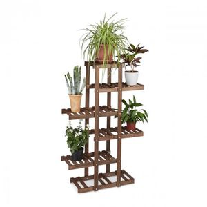 etagere bois pour plantes achat vente etagere bois. Black Bedroom Furniture Sets. Home Design Ideas
