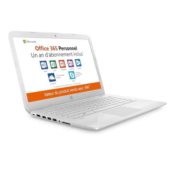 "ORDINATEUR PORTABLE HP PC Portable Stream 14-cb036nf - 14"" HD - Celero"