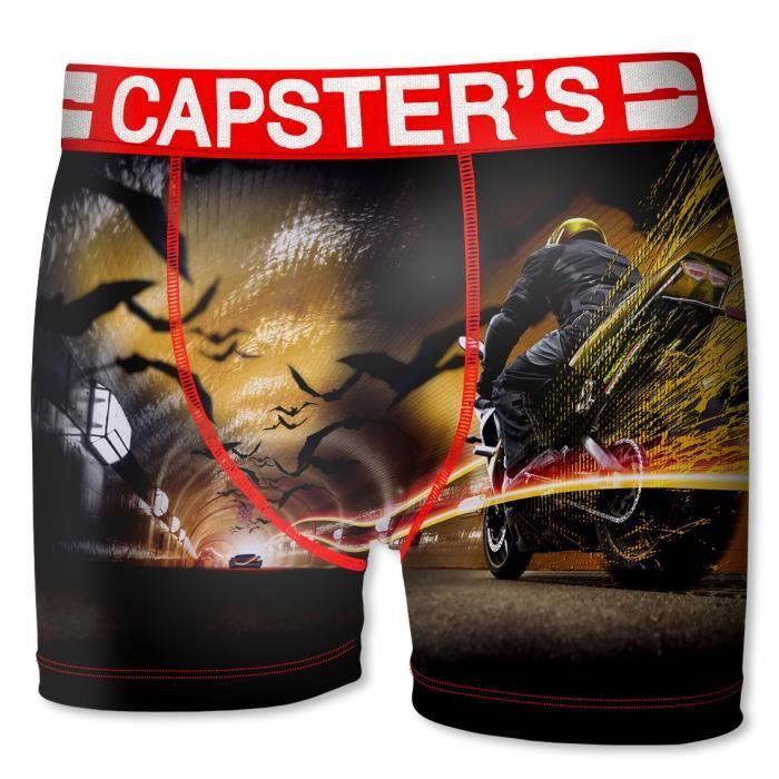 BOXER - SHORTY CAPSTER Boxer Homme Moto