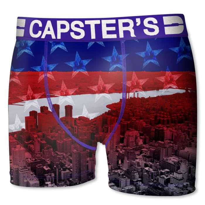 BOXER - SHORTY CAPSTER Boxer Homme New York