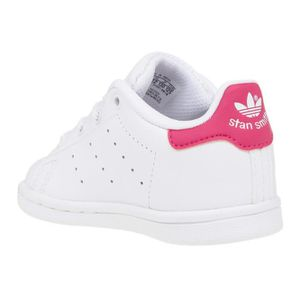check out 71088 79845 ... BASKET ADIDAS Baskets Stan Smith - Bébé fille - Blanc et ...