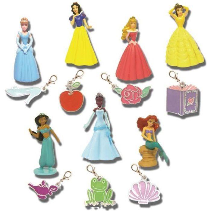 DISNEY PRINCESSES Figurine et pendentif