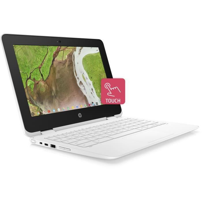 "HP PC Portable Chromebook 11-ae109nf - 11,6"" HD - Celeron N3350 - RAM 4Go - Stockage 64Go - Chr"