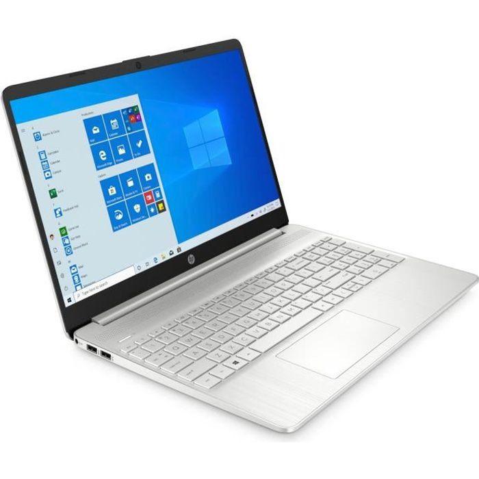 HP PC Portable 15s-eq1099nf - 15-FHD - Ryzen 7 4700U - RAM 8Go - Stockage 512Go SSD - W10 - AZERTY