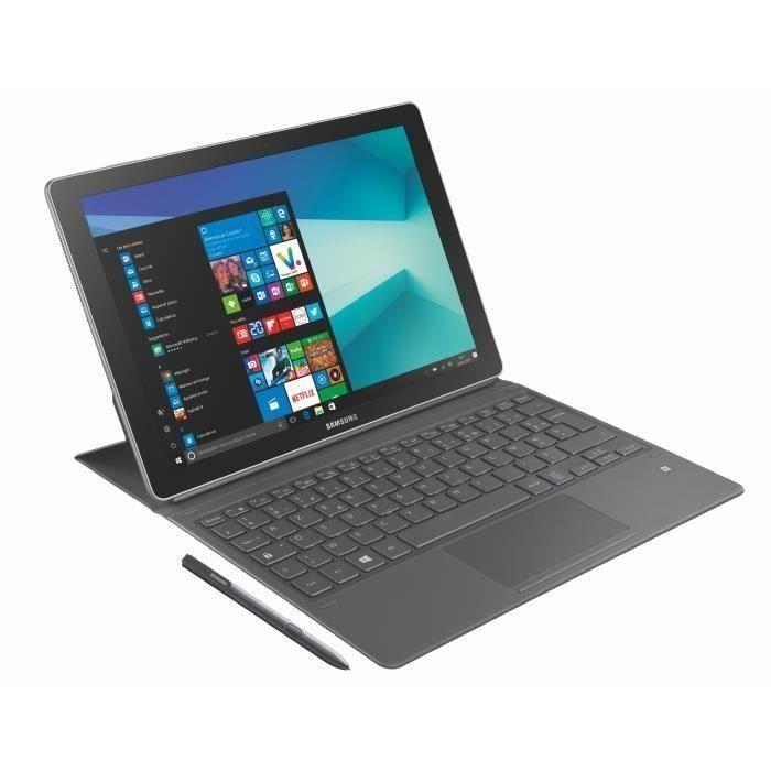 SAMSUNG 2 en 1 Galaxy Book 12 pouces FHD+ - Intel Core I5 Kabylake - RAM 8Go - Stockage 256Go - Wifi/4G