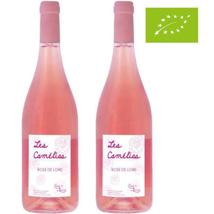 2ème à -50% - Château de la Roulerie 2019 Rosé de Loire - Vin rosé de La Loire