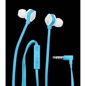 CASQUE AVEC MICROPHONE HP Ecouteurs H2310 -Bleu
