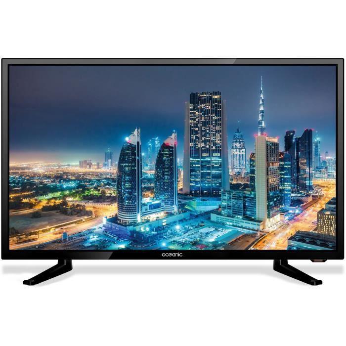 Téléviseur pour véhicule Oceanic TV LED Camping car TNT HD 19' (47 cm) HD H