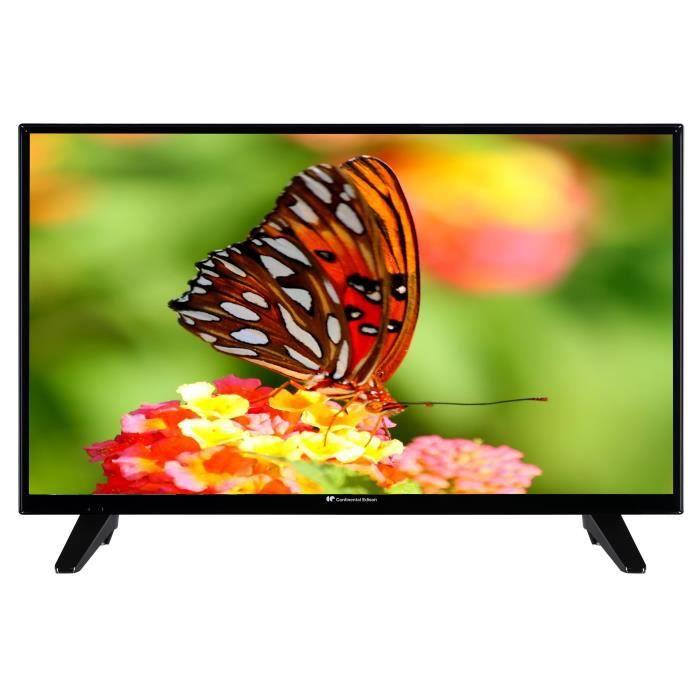 Téléviseur LED Continental Edison Smart Wifi TV 32' HD You tube N