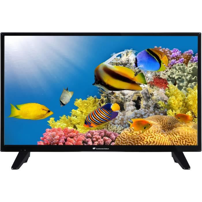 Téléviseur LED CONTINENTAL EDISON SMART TV LED 32'' (80 cm) - HD